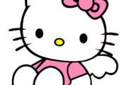 Dragon Crossing: Cut Files - Hello Kitty