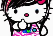 Emo Hello Kitty