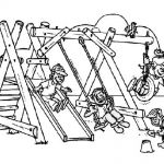Enjoy the Playground After Going Back to School Coloring Page