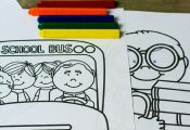 Enjoy these back to school free coloring pages to help your kids transition to t...