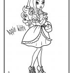 Ever After High Coloring Pages Ever After High - Apple White – Cartoon Jr.