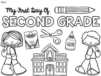 FREE-Back-to-School-Coloring-Pages-Pre-K-5-Beginning-of-the-Year FREE Back to School Coloring Pages! {Pre-K-5} {Beginning of the Year} Cartoon