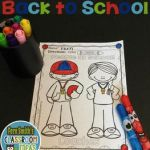 #Free Back To School Coloring Page your classroom or personal children's fun! St...