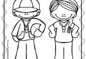 Free Back To School Coloring Page your classroom or personal children's fun! Stu...