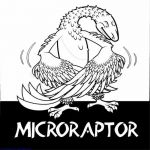 Free Downloads Microraptor Cute Dinosaurs Coloring Pages #coloring #coloringbook...