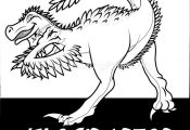 Free Instant Download Velociraptor Cute Dinosaurs Coloring Pages #coloring #colo...
