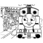 Free Printable Coloring Pages of The Fergus Train