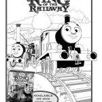 Free Thomas The Train King of the Railway Printable Coloring Sheet