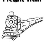 Freight Train Coloring Page from TwistyNoodle.com- Customizable. Personalize and...