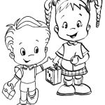 Fun Coloring Pages: Back to school - free coloring pages