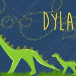 """Give a super sweet, custom gift to someone you love for their nursery. """"Dylan"""" i..."""