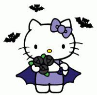 Goth Hello Kitty
