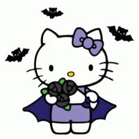 Goth Hello Kitty Wallpaper