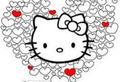 HELLO KITTY Coloring Pages & Invites