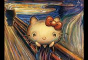 HELLO KITTY LIMITED: MUSEUM ART COLLECTION: HELLO KITTY TRIBUTE TO THE SCREAM BY...