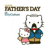 Happy father day hello kitty