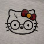 Hello Kitty Harry Potter tee