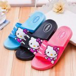 Hello Kitty Indoor household slippers Male and female style There are three colo...