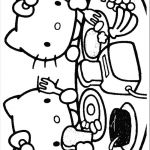 Hello Kitty Printable Coloring Pages | ... Pages Kitty18 (Cartoons > Hello Kitty...
