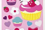 Hello Kitty Set of Wall Stickers by Meri Meri by Meri Meri. $13.00. Hello Kitty ...