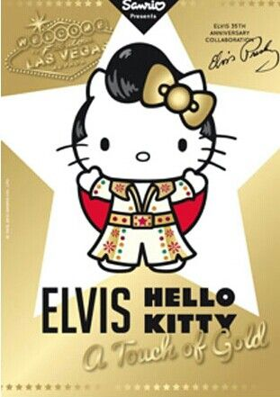 Hello Kitty as ELVIS Wallpaper