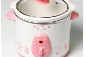 Hello Kitty kitchen crock pot slow rice cooker