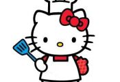 Hello Kitty likes to bake
