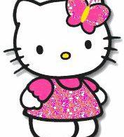 Hello kitty Glitter plaatjes