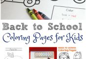 Help kids get excited about heading back to school with these back to school col...