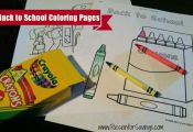 Here are some great Back to School Coloring Pages to help get the kids excited t...
