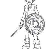 Hiccup coloring page - Coloring page - MOVIE coloring pages - HOW TO TRAIN YOUR ...
