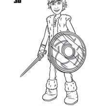Hiccup coloring page – Coloring page – MOVIE coloring pages – HOW TO TRAIN YOUR … Wallpaper