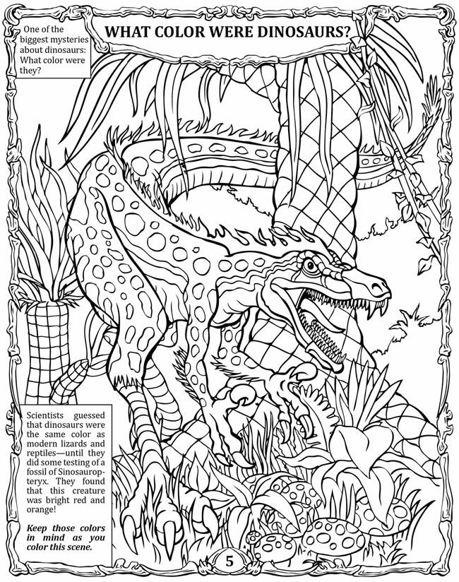 History's Mysteries! Dinosaurs: Activity Book Dover Publications