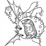 How to Train Your Dragon - Gronckle coloring page