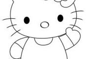 How to draw Hello Kitty - DrawingTutorials1...