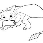 How to train your dragon coloring page - trendingideas.com... - #How-To-Train-Yo...