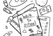 Image result for back to school coloring sheets