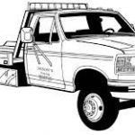 Image result for cartoon truck coloring pages