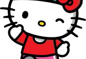 Image result for hello kitty running