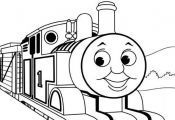 Kids Thomas The Train Coloring Pages Toby - Cartoon Coloring pages ...