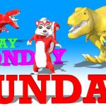 Learn Day Names With Dinosaurs and Animal Colors for children -Kids Nurs...