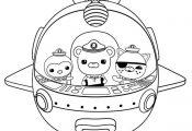 Les Octonauts dans la capsule