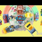 Lets have some fun learning colors with Paw Patrol, Cars 3 and Little Sprouts TV...