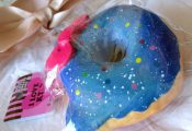 Licensed JUMBO HELLO KITTY GALAXY DONUT SQUISHY ?? ????Soft and squishy!! Authen...