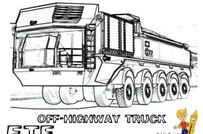 Macho Construction Coloring! ETF Dump Truck Train! Tell Other Kids You Found Yes...