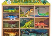 Melissa & Doug Dinosaur Party Play Set - 9 Collectible Miniature Dinosaurs in a ...