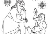 Moana | Printables Baby - Free Cartoon Coloring Pages