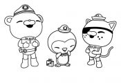 OCTONAUTS Coloring Sheets