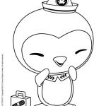 Octonauts Coloring Pages for Free | Coloriage MEDIC PESO PENGUIN   #cartoon #col...