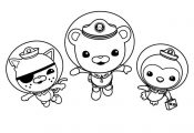 Octonauts Kwazii Coloring Pages